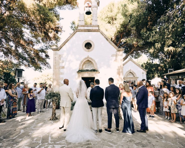 Boho Elegant Wedding in Greece