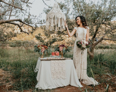 Rustic Elegant wedding in Crete